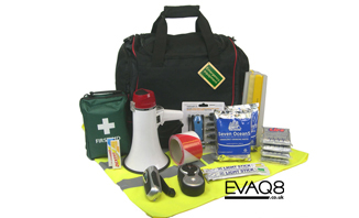 Emerency Grab Bag for Business | FireSafetyKits and Emergency Preparedness Kits from EVAQ8.co.uk