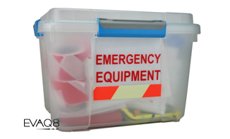 Duty Officer Fire Evacuation Kit | FireSafetyKits from EVAQ8.co.uk - safe evacuation